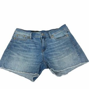 J. Crew Indigo Denim Shorts Size 27